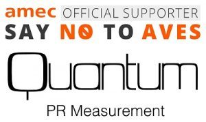 Quantum PR Measurement supports AMEC campaign to eradicate AVEs