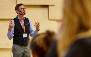 keynote speaker Alexander Buhmann
