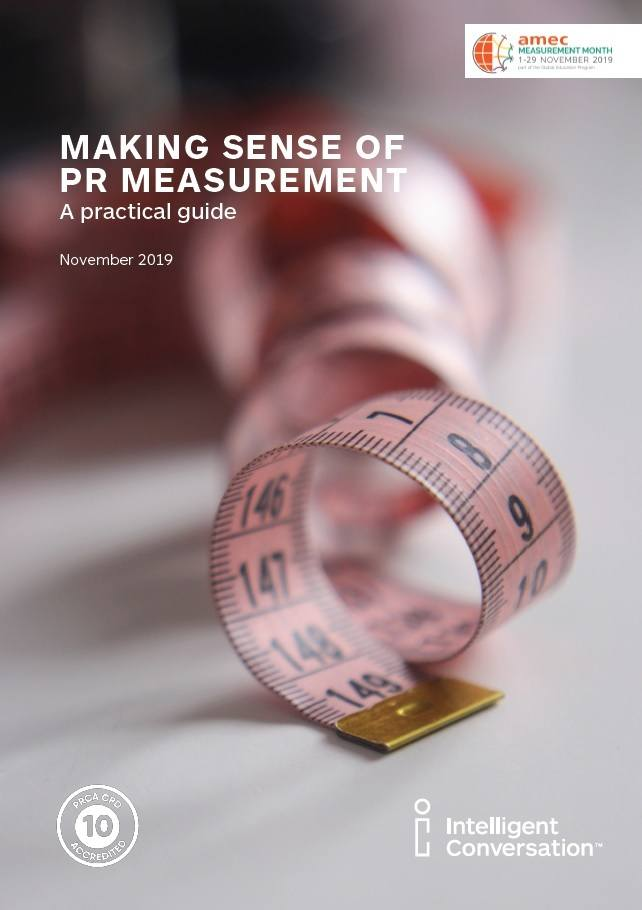 Making sense of PR measurement